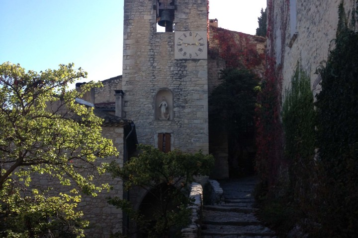 Crestet in Provence- cycling