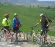 Bike tour Tuscany landscape