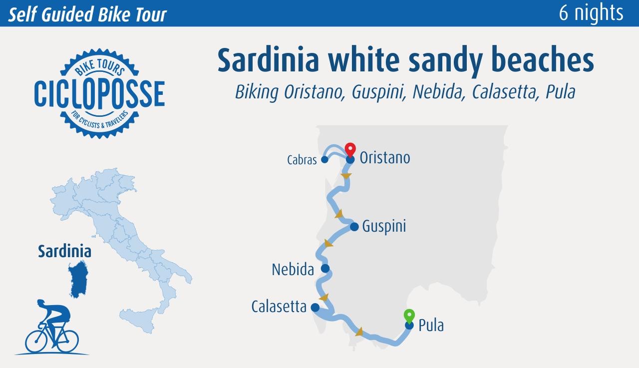 Sardinia White sandy beaches