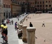 Siena by bike main square