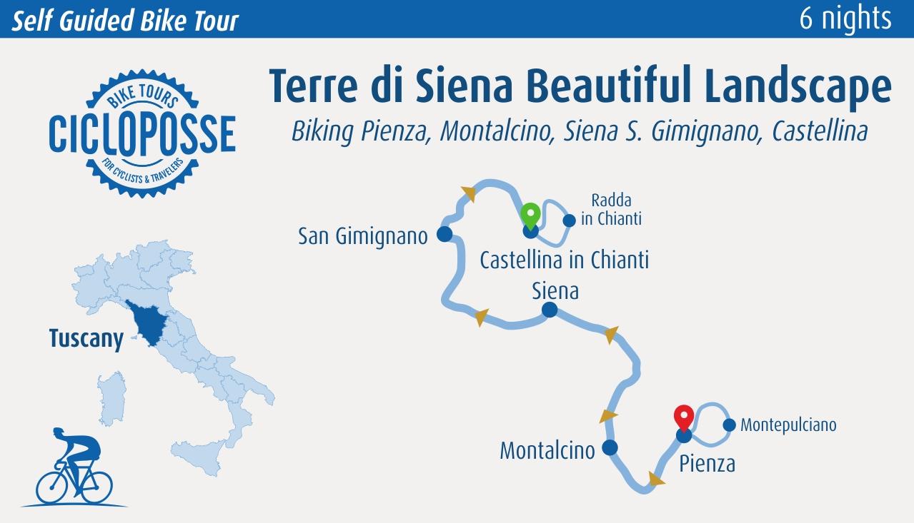 Terre di Siena Beautiful Landscape