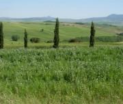 Tuscan countryside by bike