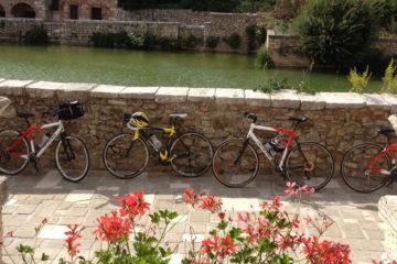 bagno vignoni bike trips