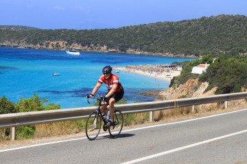 bike tour Sardinia island