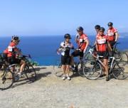 coastal bike tour Italy