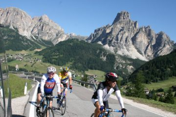 dolomites bike trips