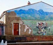 murales sardinia cycling