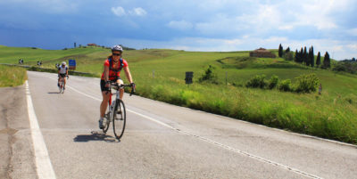 orcia valley bike trips