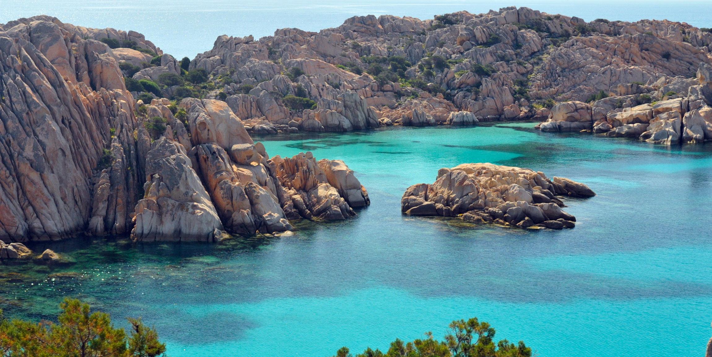 Sunset coast of Sardinia
