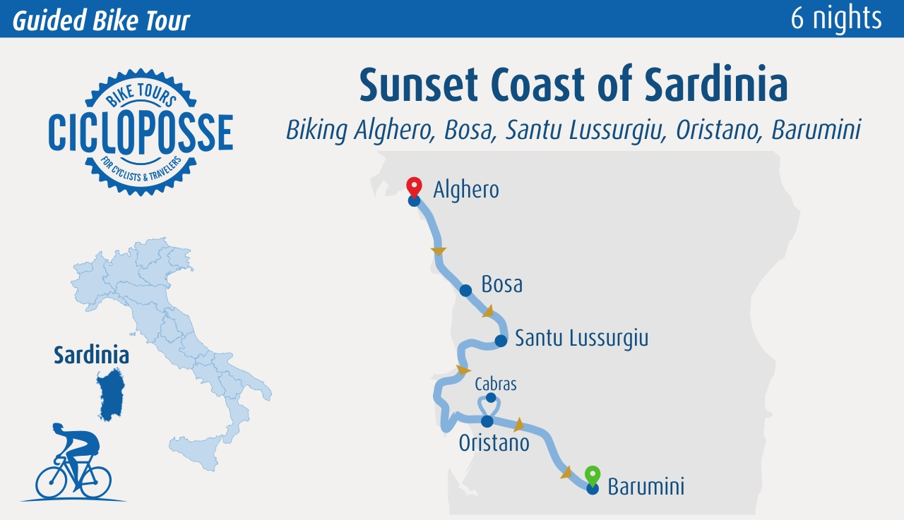 cycling in Sardinia