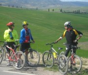 Bike tour Tuscany landscape