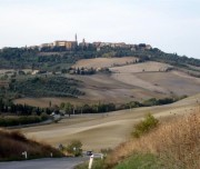 Pienza bike tour Tuscany