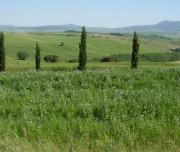 Tuscan countryside by bike