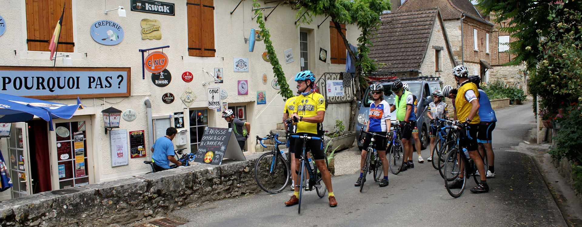 Bike Tour Dordogne