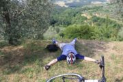cycling in Tuscany