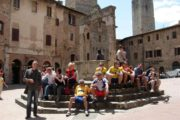 orcia valley road bike tour