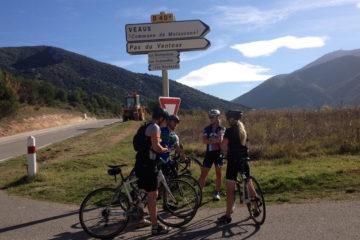 mont ventoux bike trip