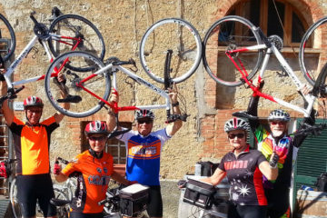 umbria cycling vacation