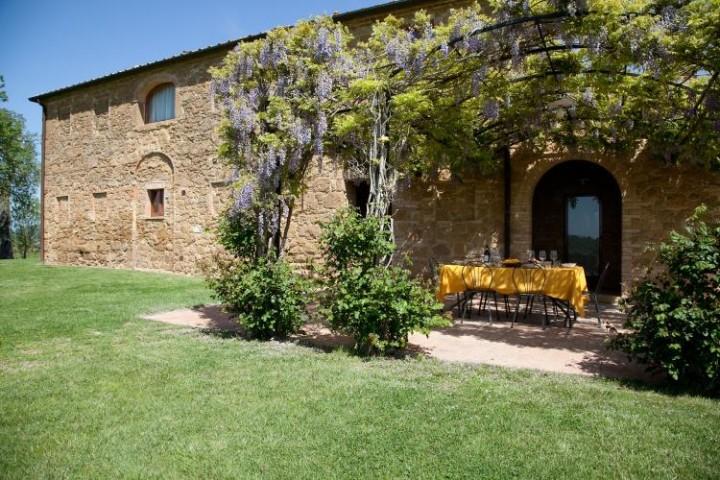 luxury tuscan villa Pienza