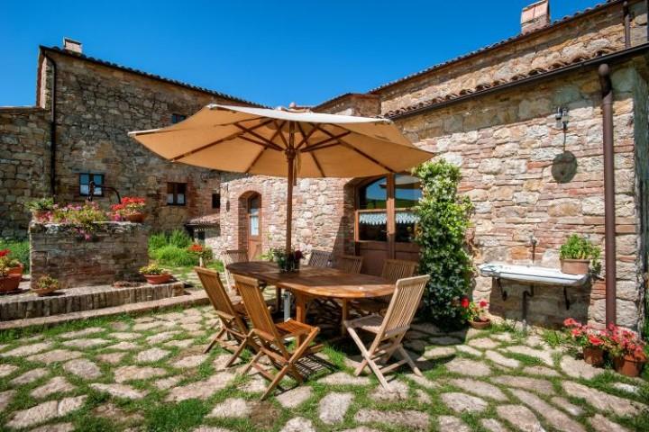 tuscany villas pienza