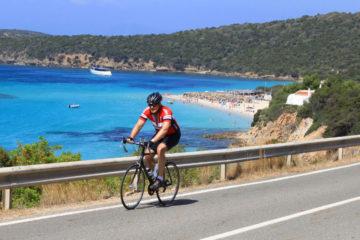 bike tour sardinia Zig-zagging Sardinia Island