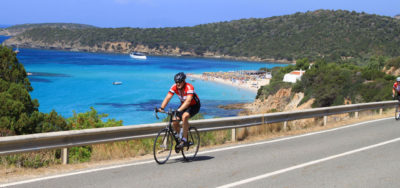 bike tour sardinia Spain Pyrenees foothills