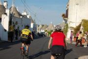 cyclcing in Puglia