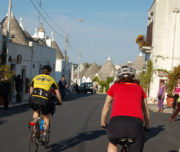 cyclcing in Puglia