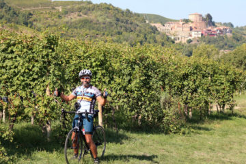wine bike tour piedmont
