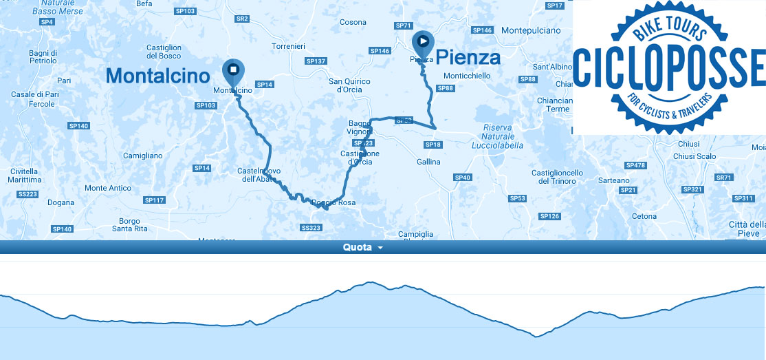 bike ride montalcino