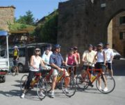 bike adventure tuscany