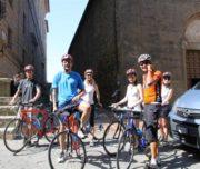 biking in italy