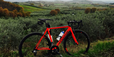 cycling in tuscany with cannondale