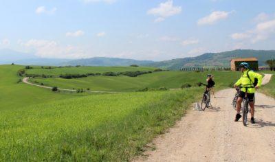e-bike Pienza montepulciano