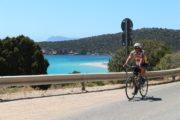 bike ride on the coast