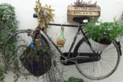 bike on the wall Puglia Classic Bike Tour