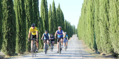 bike tour gravel montalcino