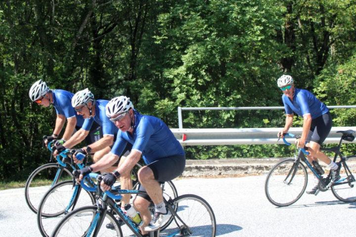 bike ride in Umbria