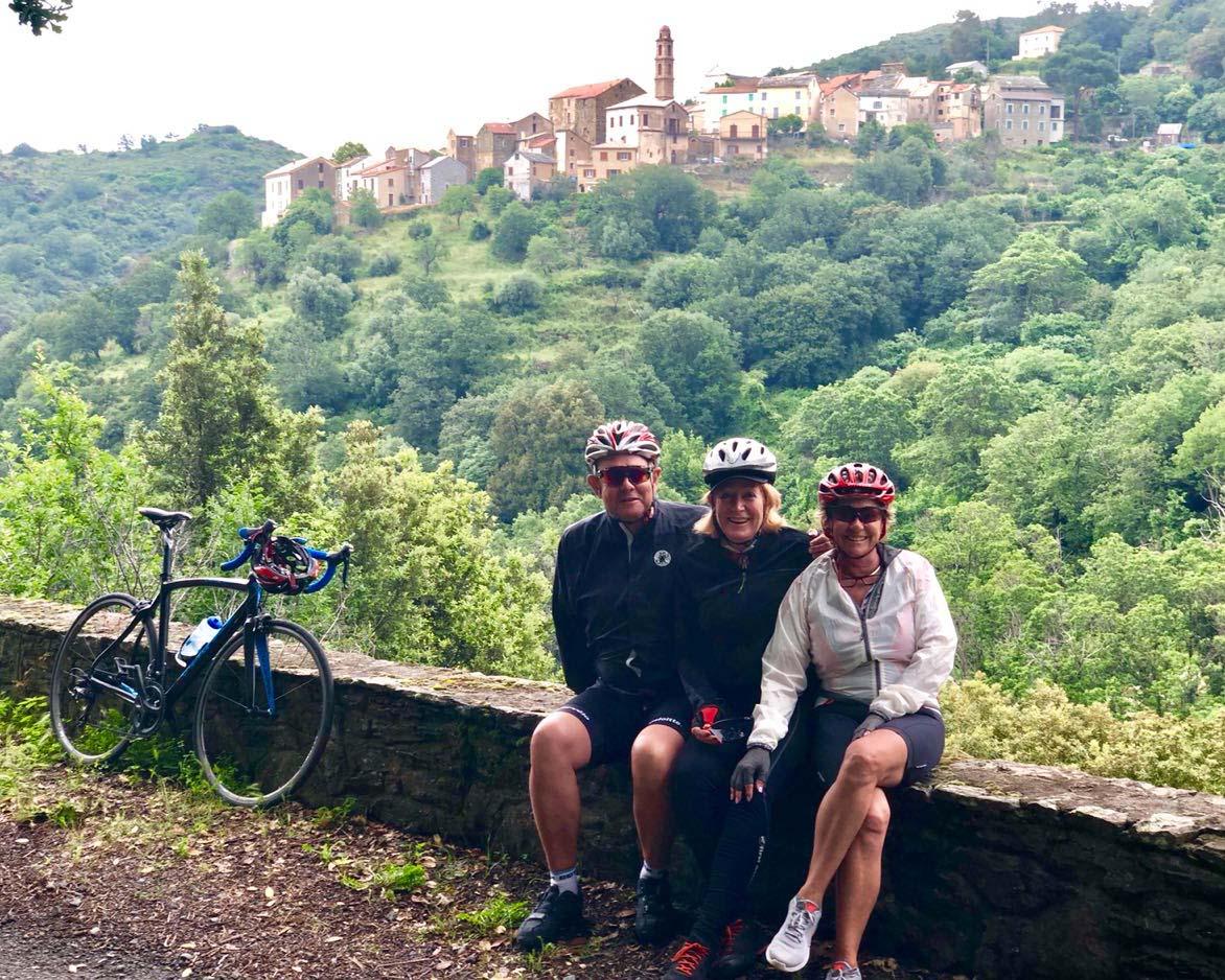 corsica bike tour