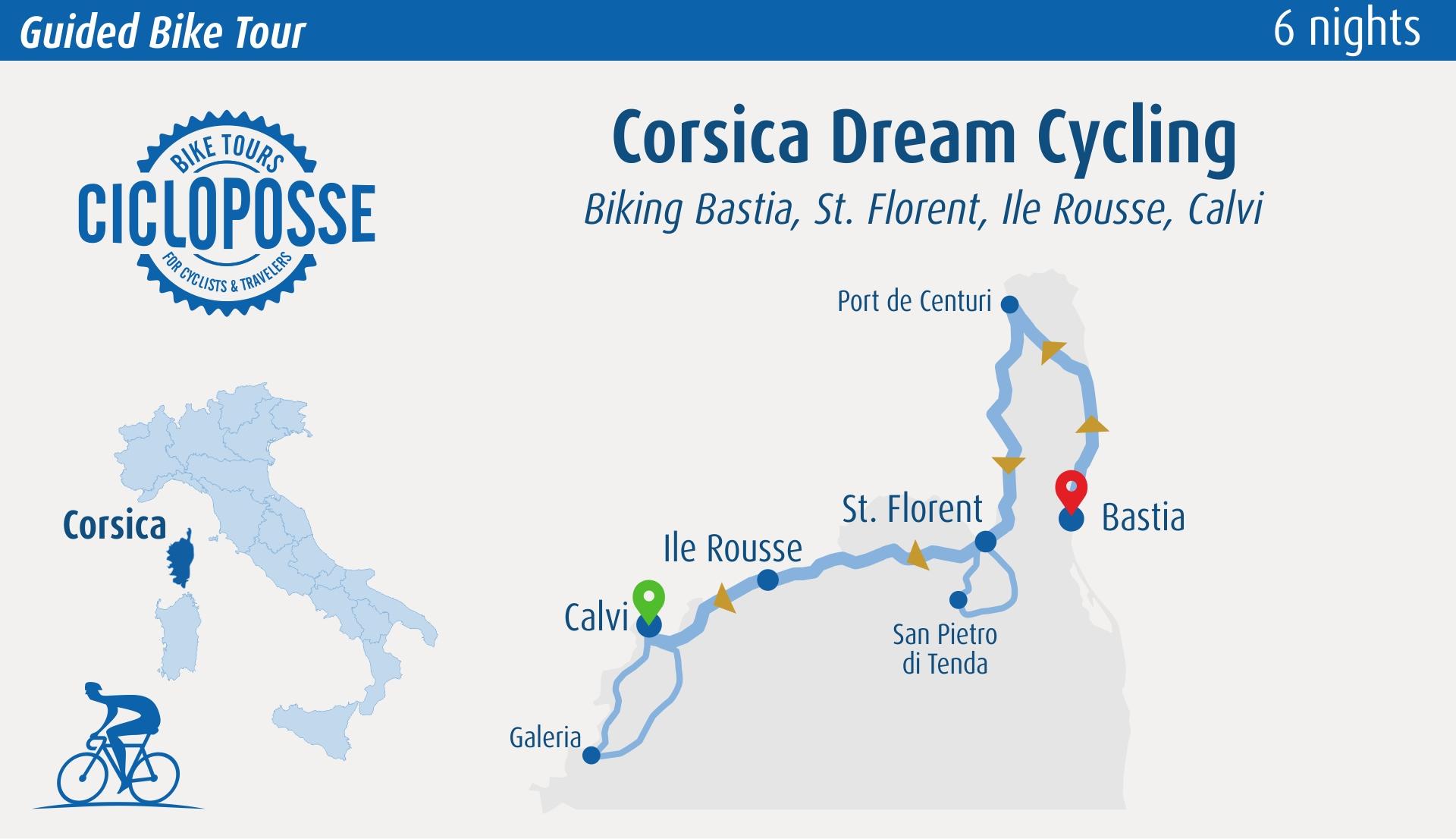 bike tour corsica