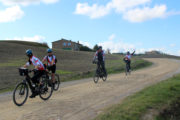 cycling in tuscany eroica path