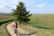 gravel bike in Tuscany
