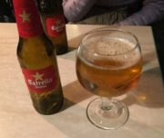 beer after bike ride mallorca
