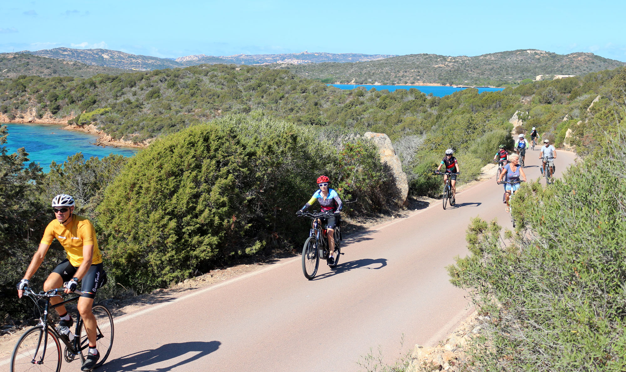 where to cycle in Sardinia?