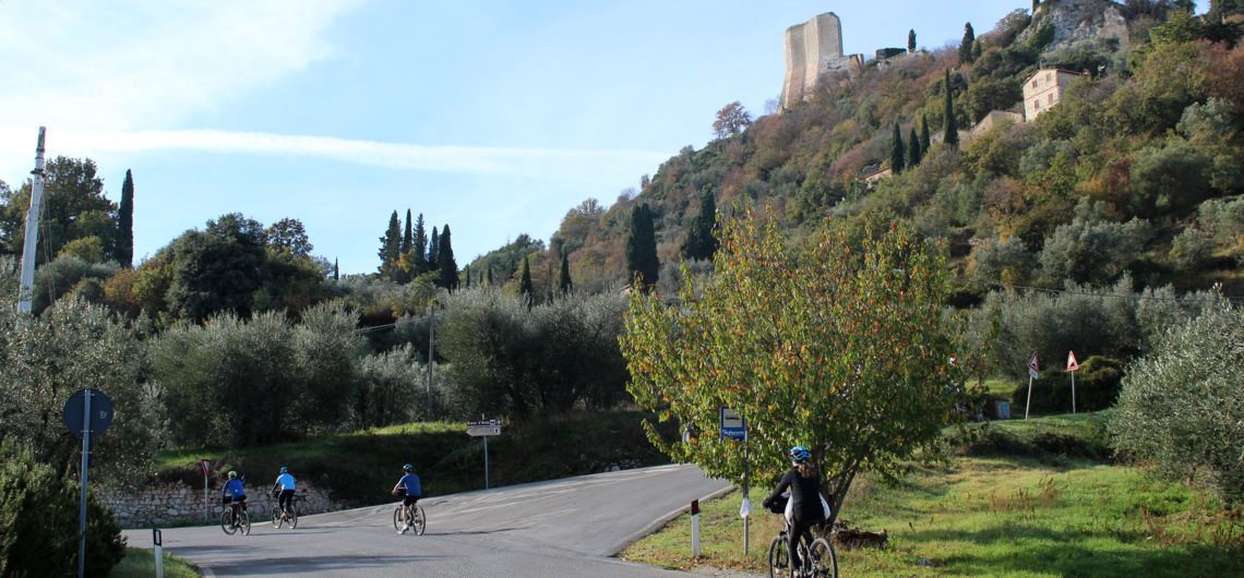 where to cycle in Tuscany