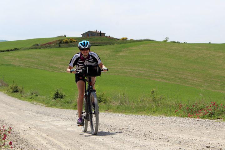 cyclign vacation Tuscany