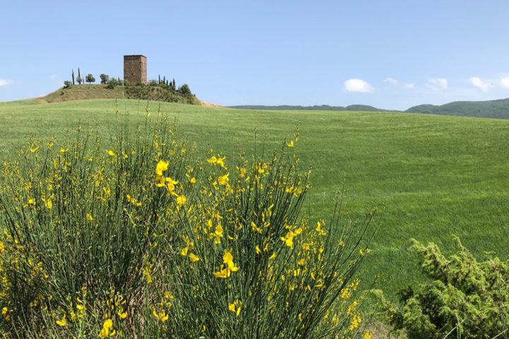 bike through Tuscany