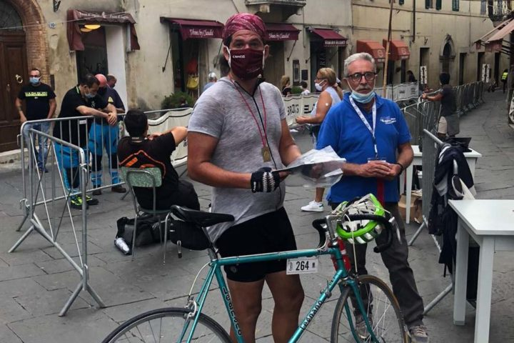 eroica traguardo Eroica Montalcino 2020