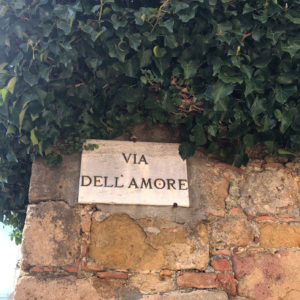 viadellamore bis Why start bike tour in Pienza?