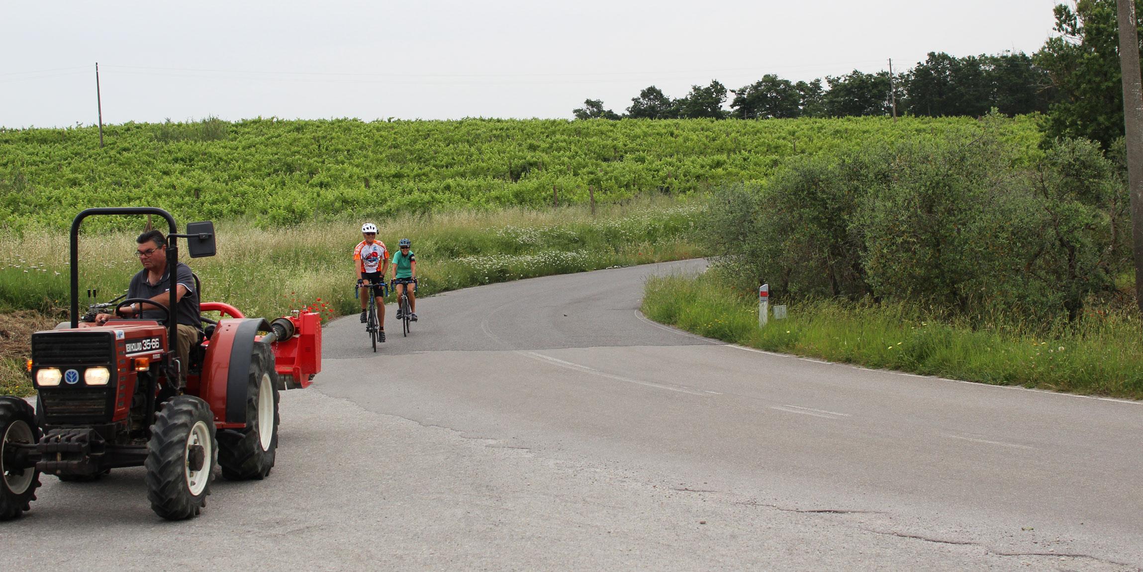 Tuscany Italy Cycling